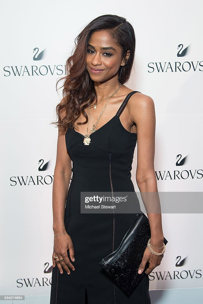 DJ Harley Viera Newton attends Swarovski #bebrilliant at The Weather Room at Top of the Rock on May 24, 2016 in New York City.