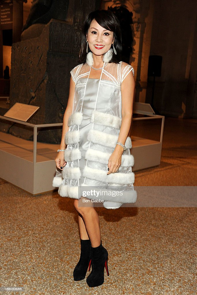 A guest attends the 10th annual Apollo Circle benefit at Metropolitan Museum of Art on November 14, 2013 in New York City.