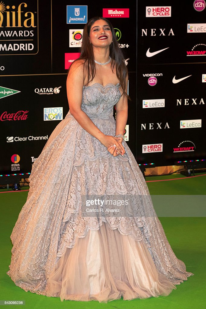 Bhumi Pednekar attends the 17th IIFA Awards (International Indian Film Academy Awards) at Ifema on June 25, 2016 in Madrid, Spain.