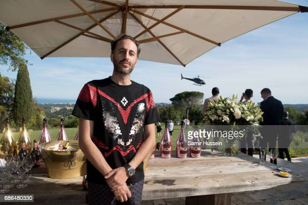 A guest attends the 'Ace of Spades' and Three Six Zero Entertainment Cannes Film Festival Celebration with Champagne Armand de Brignac at Les Hauts...