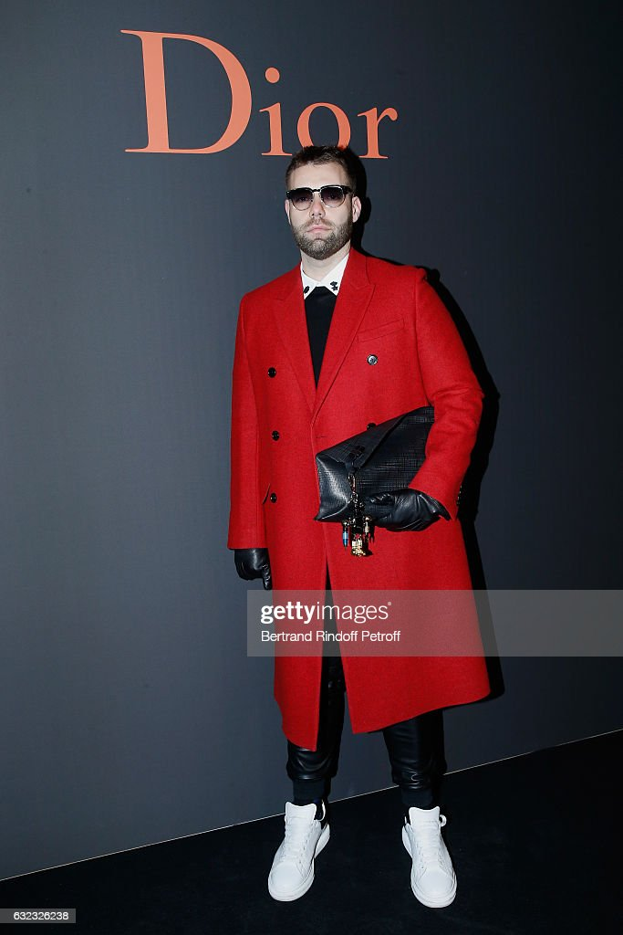 Guest attends the Dior Homme Menswear Fall/Winter 2017-2018 show as part of Paris Fashion Week on January 21, 2017 in Paris, France.
