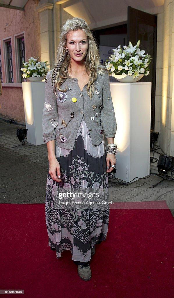 Guest attends the 'Fest der Eleganz und Intelligenz' at Villa Siemens on September 20, 2013 in Berlin, Germany.