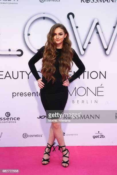 Guest attends the GLOW The Beauty Convention on May 13 2017 in Duesseldorf Germany