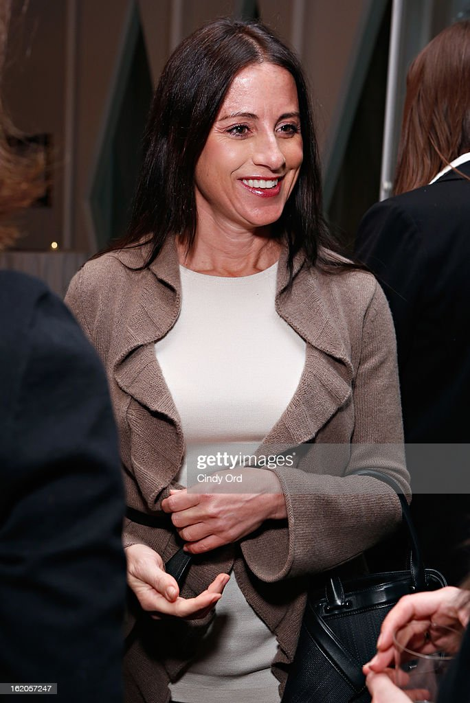 A guest attends the Gotham Magazine & Moroccanoil Celebrate With Step Up Women's Network event on February 18, 2013 in New York City.