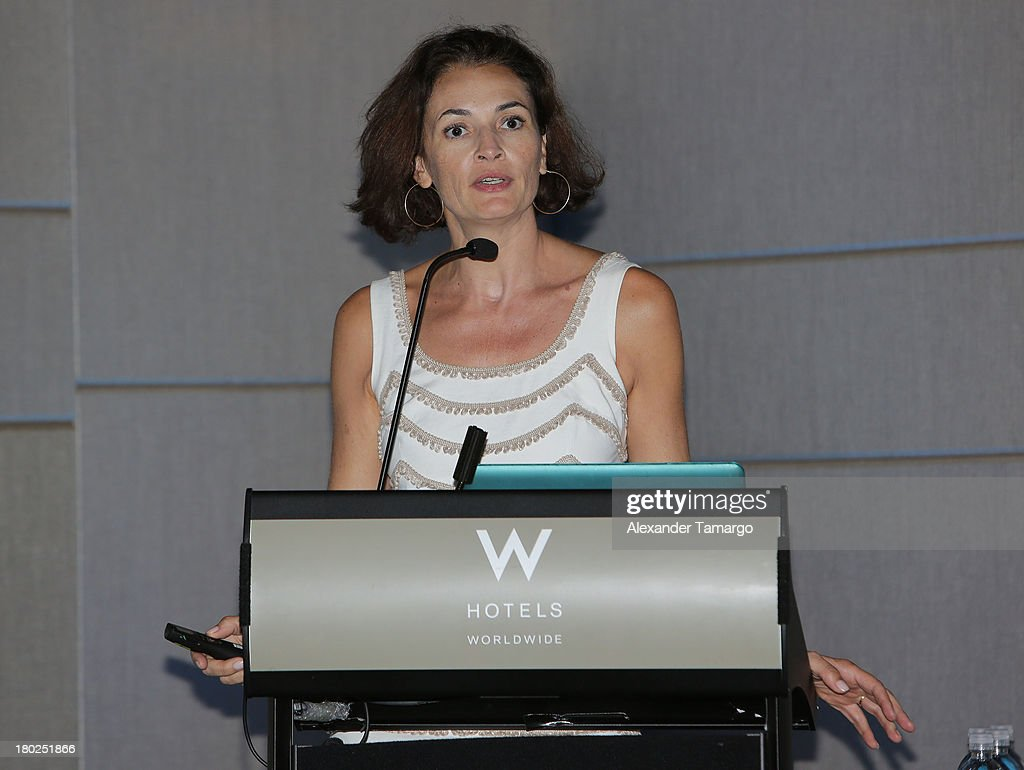 Guest attends the Haute Magazine Real Estate Summit at the W Hotel South Beach on September 10, 2013 in Miami, Florida.