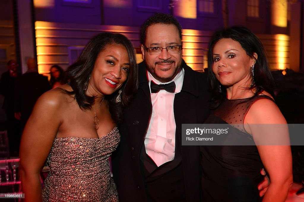 Guest attends the Inaugural Ball hosted by BET Networks at Smithsonian American Art Museum & National Portrait Gallery on January 21, 2013 in Washington, DC.