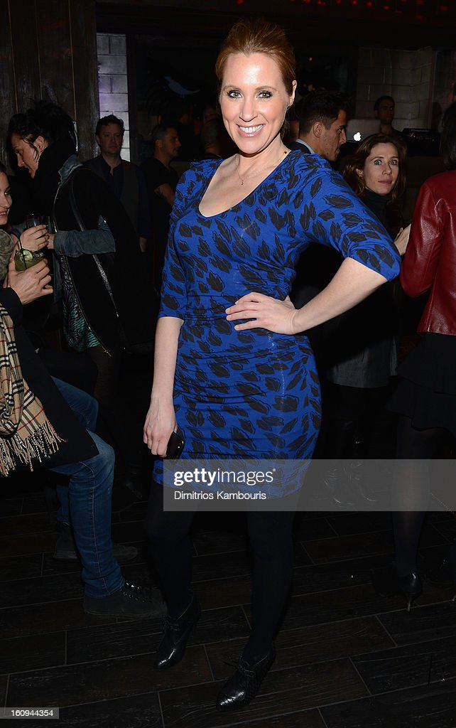 Guest attends the La Perla After Party Hosted By DeLeon Tequila at The Electric Room on February 7, 2013 in New York City.