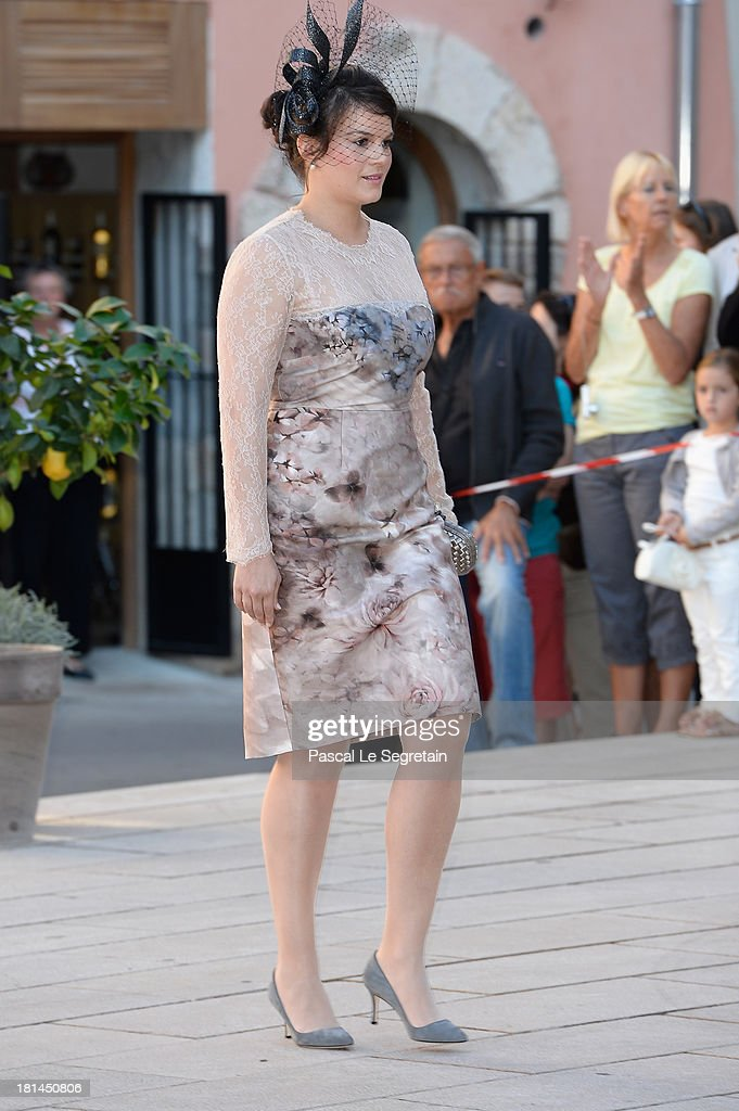 Guest attends the Religious Wedding Of Prince Felix Of Luxembourg and Claire Lademacher at the Basilique Sainte Marie-Madeleine on September 21, 2013 in Saint-Maximin-La-Sainte-Baume, France.
