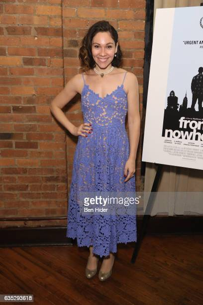 Guest attends the Special Screening Of FilmRise's 'From Nowhere' at Tribeca Screening Room on February 13 2017 in New York City