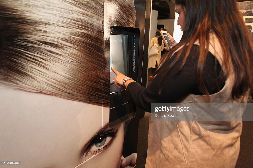 Guest attends the TRESemme Salon at Moynihan Station on February 13, 2016 in New York City.