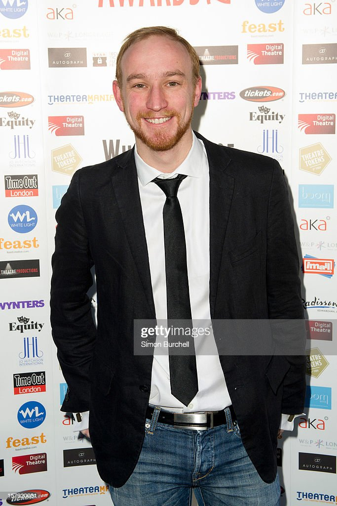 Guest attends the Whatsonstage.com Theare Awards nominations launch at Cafe de Paris on December 7, 2012 in London, England.