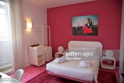 Guest bedroom at international design hotel lisbon for International bedroom designs