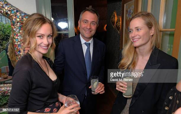 Guest Ben Goldsmith and guest attend the Leuser Ecosystem Action Fund hosted by Ben Goldsmith and Sarah Woodhead at 5 Hertford Street in...