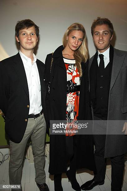Guest Caroline Owens and Evan Speiser attend ANNABELLE DEXTERJONES and ALEXANDRA RICHARDS Host TIMO Wallets and LIZZIE FORTUNATO JEWELS with FLAUNT...