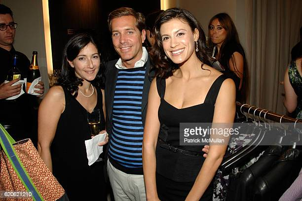 Guest Christian Leone and Tatiana Boncompagni attend VOGUE and ELIE TAHARI host cocktails to celebrate TATIANA BONCOMPAGNI's new book GILDING LILY at...
