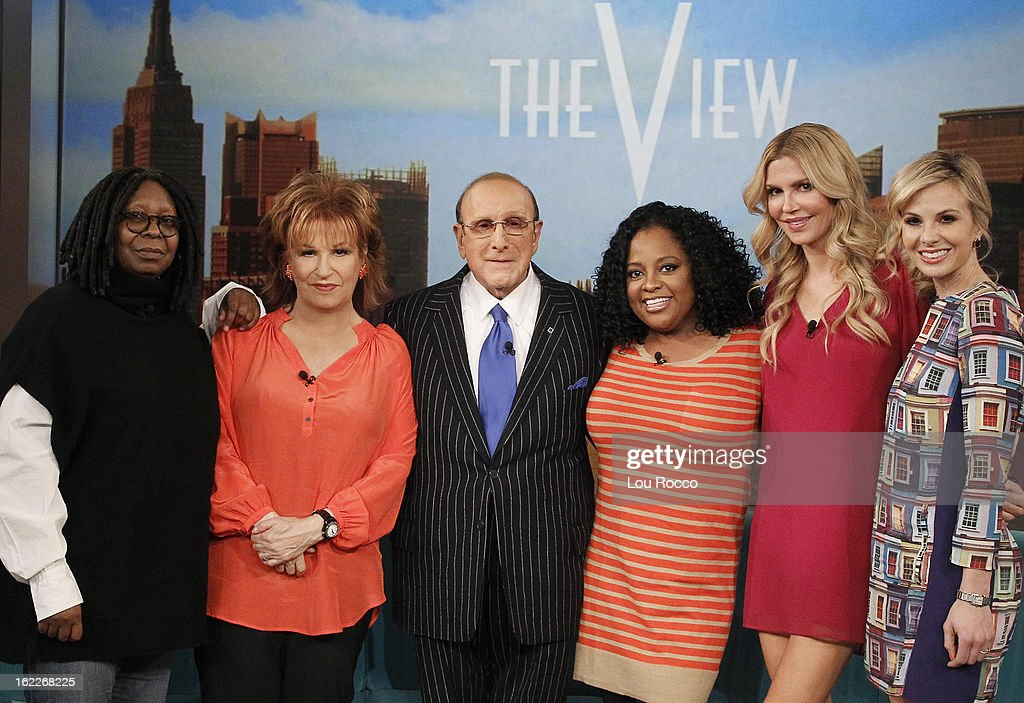 """THE VIEW - Guest co-host Brandi Glanville (""""The Real Housewives of Beverly Hills""""; author, Drinking and Tweeting: And Other Brandi Blunders); Joan and Melissa Rivers (""""Joan & Melissa: Joan Knows Best""""); record producer and music industry executive Clive Davis (author, The Soundtrack of My Life) appeared today, February 19, 2013 on 'The View.' 'The View' airs Monday-Friday (11:00 am-12:00 pm, ET) on the ABC Television Network. HASSELBECK"""