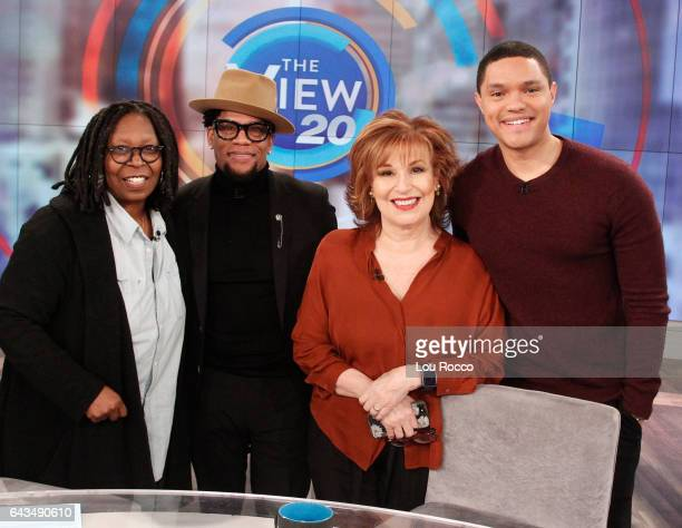 THE VIEW Guest cohost is DL Hughley and Trevor Noah is the guest today Friday February 17 2017 on ABC's 'The View' 'The View' airs MondayFriday on...