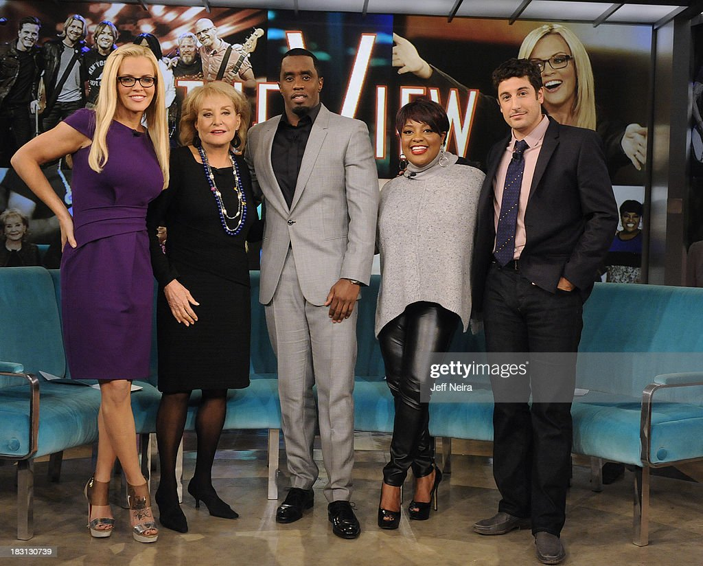 THE VIEW - (airs 10.4.13) Guest co-host Jason Biggs returns. Guests include Sean 'Diddy' Combs and Terrence J and his mother, Lisa Gonzalez. 'The View' airs Monday-Friday (11:00 am-12:00 pm, ET) on the ABC Television Network. BIGGS