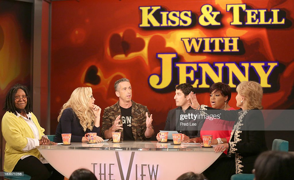 THE VIEW - Guest co-host Jason Biggs welcomes Kerry Washington and Andie MacDowell to 'THE VIEW,' 10/3/13 (11:00 a.m. - 12:00 noon, ET) airing on the ABC Television Network. 'Kiss and Tell with Jenny' WHOOPI
