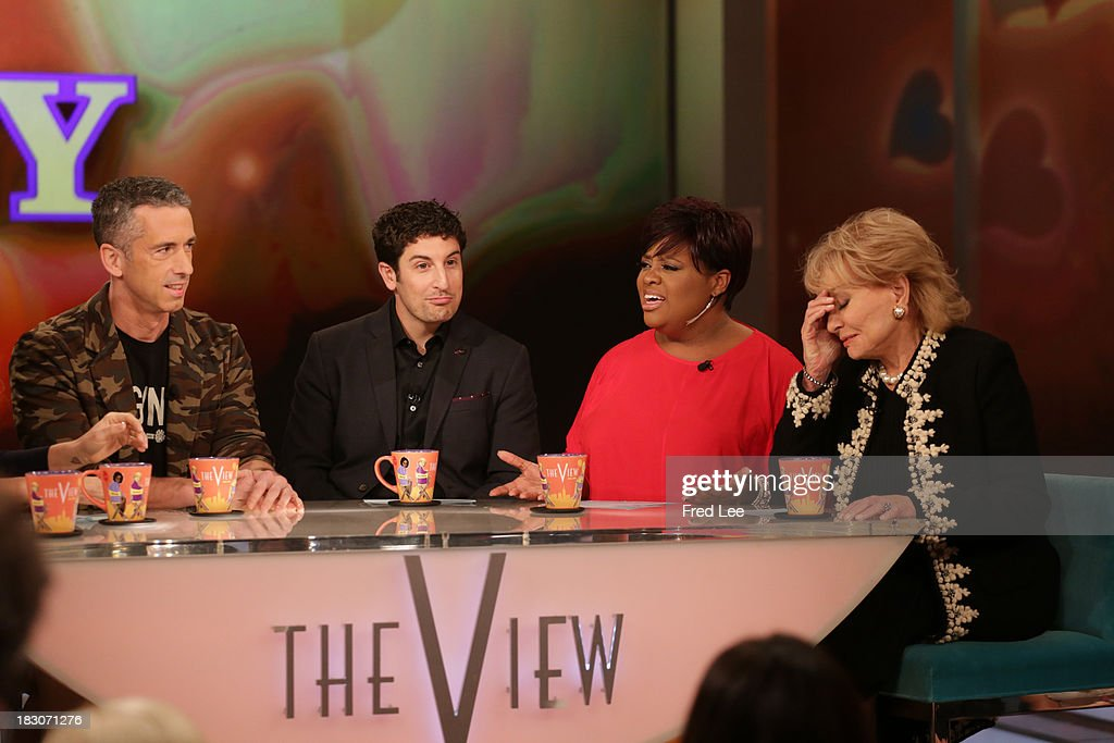 THE VIEW - Guest co-host Jason Biggs welcomes Kerry Washington and Andie MacDowell to 'THE VIEW,' 10/3/13 (11:00 a.m. - 12:00 noon, ET) airing on the ABC Television Network. 'Kiss and Tell with Jenny ' DAN