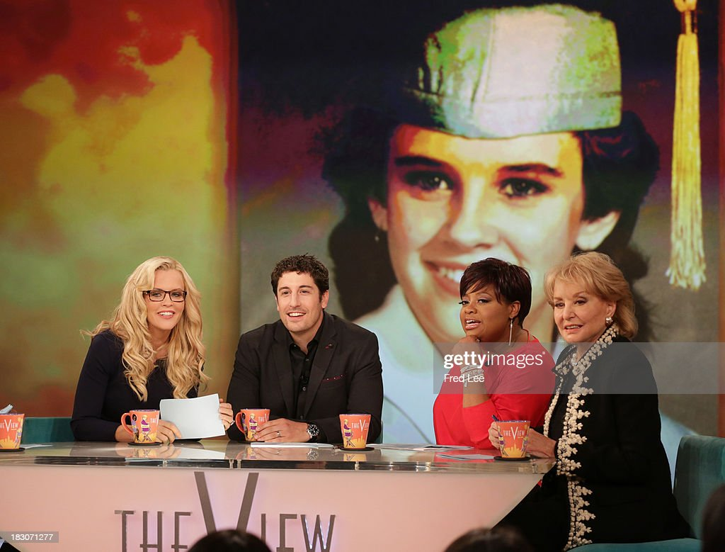 THE VIEW - Guest co-host Jason Biggs welcomes Kerry Washington and Andie MacDowell to 'THE VIEW,' 10/3/13 (11:00 a.m. - 12:00 noon, ET) airing on the ABC Television Network. WALTERS