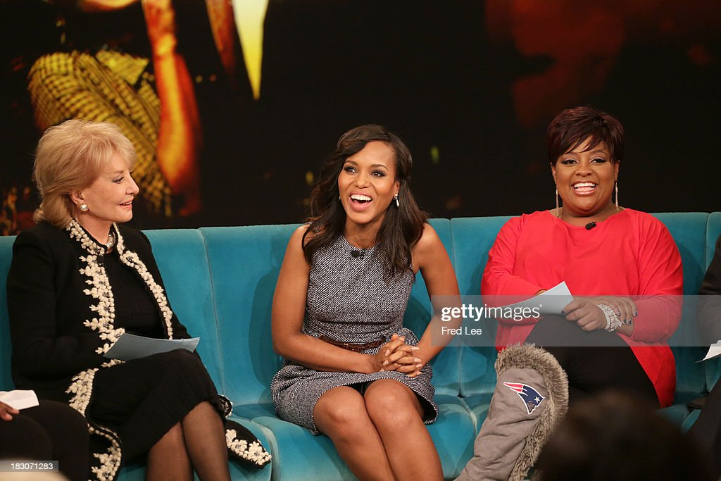 THE VIEW - Guest co-host Jason Biggs welcomes Kerry Washington and Andie MacDowell to 'THE VIEW,' 10/3/13 (11:00 a.m. - 12:00 noon, ET) airing on the ABC Television Network. SHEPHERD