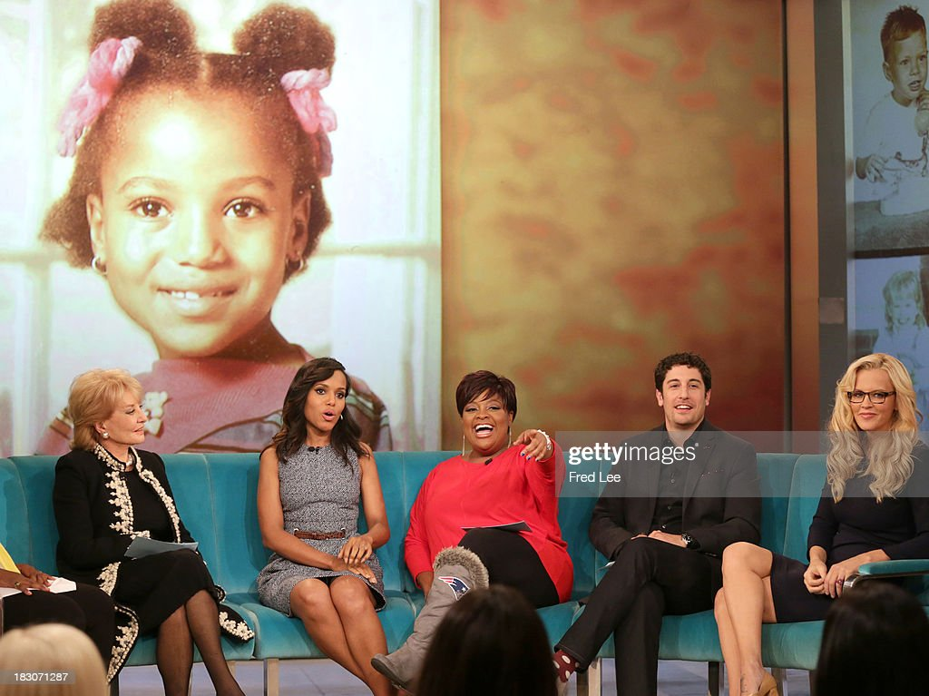 THE VIEW - Guest co-host Jason Biggs welcomes Kerry Washington and Andie MacDowell to 'THE VIEW,' 10/3/13 (11:00 a.m. - 12:00 noon, ET) airing on the ABC Television Network. MCCARTHY