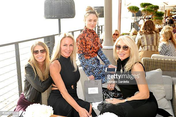 Guest Danica Perez fashion blogger Nikita Kahn and songwriter Linda Thompson attend Sabine Brouillet's jewelry pop up hosted by Nikita Kahn and Katya...