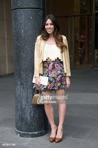 A guest day 4 of Paris Haute Couture Fashion Week Autumn/Winter 2014 on July 9 2014 in Paris France