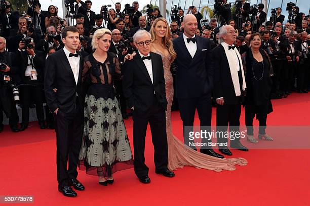 Guest Director of photography Vittorio Storaro actor Corey Stoll actress Blake Lively director Woody Allen actress Kristen Stewart and actor Jesse...