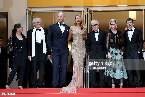 Guest Director of photography Vittorio Storaro actors Corey Stoll Blake Lively Director Woody Allen actors Kristen Stewart and Jesse Eisenberg attend...