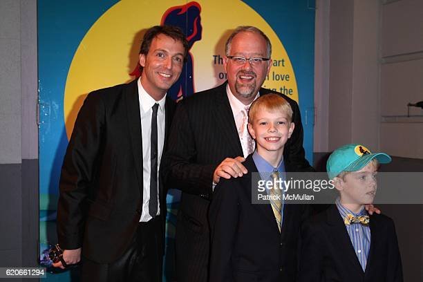 guest Doug Wright Guests attend Opening Night for Broadway's THE LITTLE MERMAID at LuntFontaine Theatre on January 10 2008 in New York City