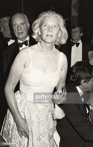 CZ Guest during 1985 Players Ball at Old Westbury Gardens in New York City New York United States