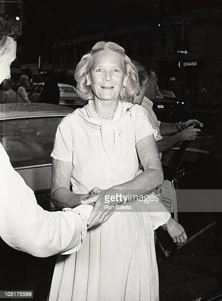 CZ Guest during Bill Blass Oscar de la Renta Gala Honoring Diana Vreeland at Mortimer's Restaurant in New York City New York United States