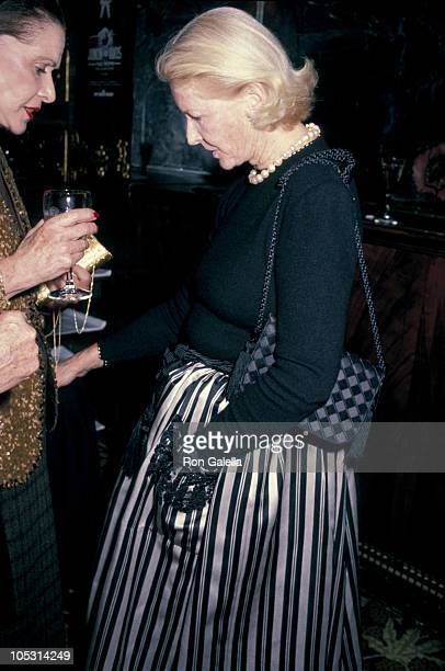 CZ Guest during Dinner Hosted By Pierre Cardin at Maxim's in New York City New York United States