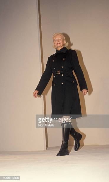 CZ Guest during Fall 1994 Fashion Week Prada at Bryant Park in New York City New York United States