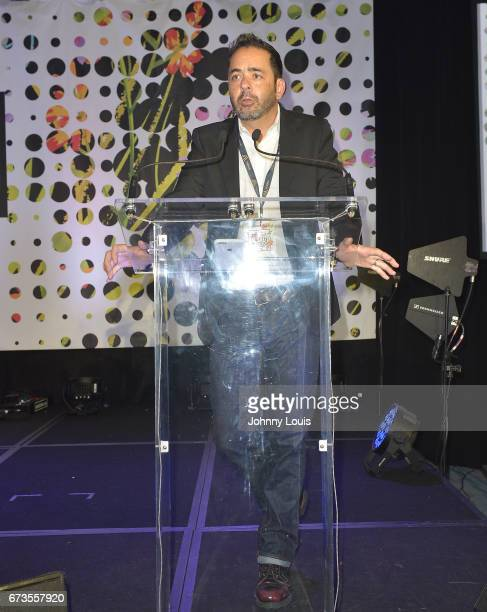 Guest during The Billboard Latin Music Conference Awards Songwriters The New Generation panel at Ritz Carlton South Beach on April 26 2017 in Miami...