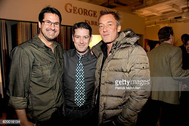 Guest Eddie Roche and Hunter Hill attend THOM FILICIA Hosts Holiday BookSigning Event for His New Book 'THOM FILICIA STYLE' at George Smith Showroom...