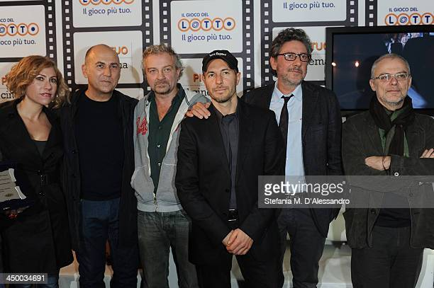 Guest Ferzan Ozpetek Giovanni Veronesi guest Sergio Castellitto and Daniele Luchetti attend the Casting Awards Ceremony during the 8th Rome Film...