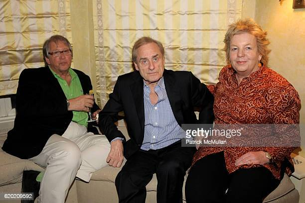 Guest Harry Evans and Lucinda Franks attend TINA BROWN VICKY WARD and LA MER host party honoring SUSAN NAGEL'S new book 'Marie Therese' at Tina Brown...