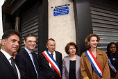 Place Charles Aznavour Unveiling At Clichy La Garenne