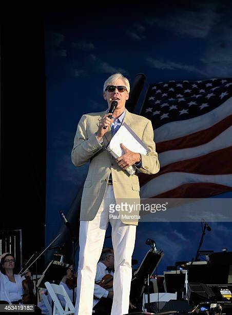 Guest Host David Gregory of MSNBC Meet the Press at Boston Pops On Nantucket Hosted By Real Simple and Coastal Living at Jetties Beach on August 9...