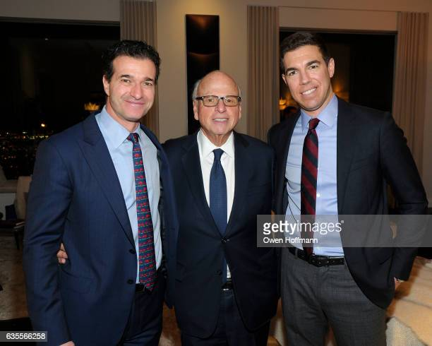 Guest Howard Lorber and Andrew Wachtfogel attend 432 Park Avenue Reveal of the Penthouse Model Residence Designed by Kelly Behun at 432 Park Avenue...