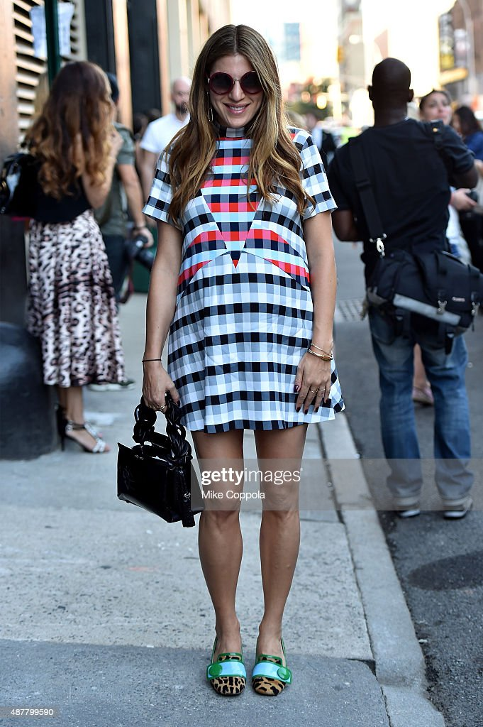 Seen Around Spring 2016 New York Fashion Week The Shows Day 2 Getty Images