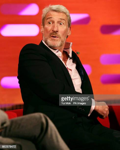 Guest Jeremy Paxman during filming of The Graham Norton Show at The London Studios in south London
