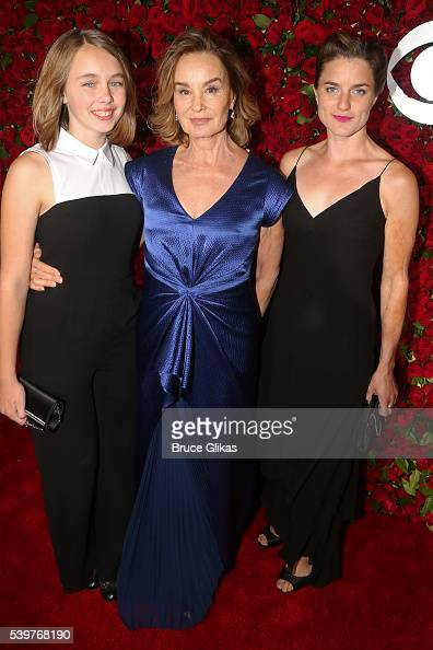 Guest Jessica Lange and Hannah Jane Shepard attend 70th Annual Tony ...