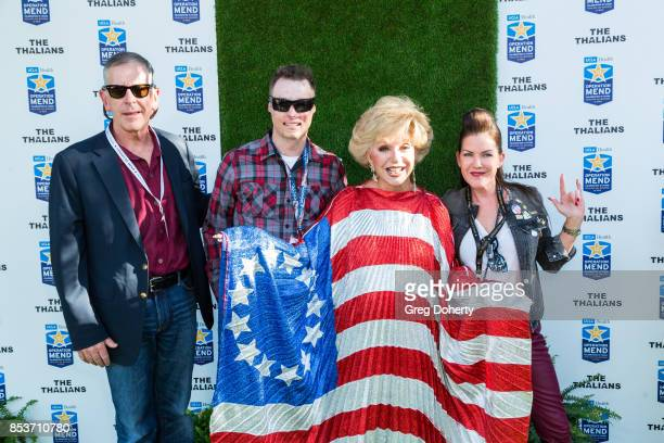 Guest Joey Paulk and Actresses Ruta lee and Kira Reed Lorsch attend the UCLA Operation Mend 10 Year Anniversary at the Home of Founder Ron Katz...