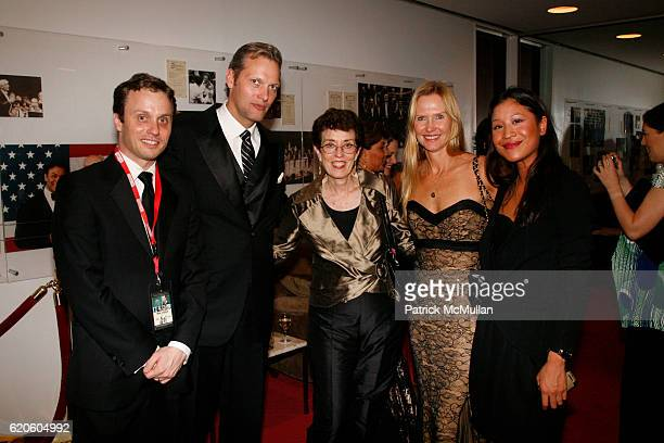 Guest Marc Hruschka Guest Susan Duffy and Monique Nguyen attend CHOPARD sponsors NEW YORK FILM FESTIVAL Opening Night at Avery Fisher Hall on...
