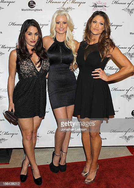 Guest Maryse Ouellet and Eve Torres attends the LA Launch Of Maryse Oulette's Bold New Jewelry Line House Of Maryse wwwhouseofmarysecom on November...