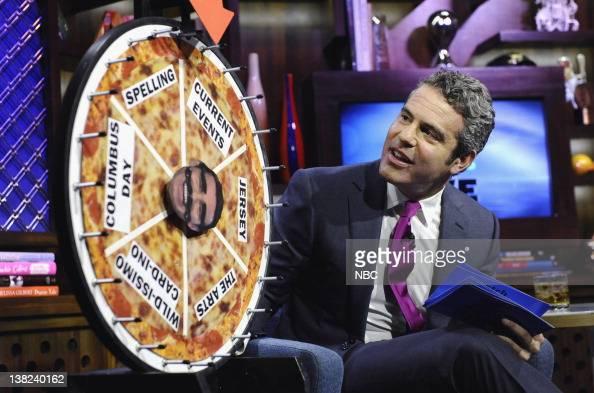 LIVE 'Guest Melissa Gorga Joe Gorga' Pictured Host Andy Cohen